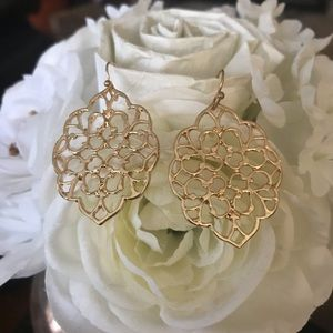 2 for $20-Gorgeous gold tone earrings!